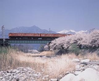 JR飯田線の車窓風景