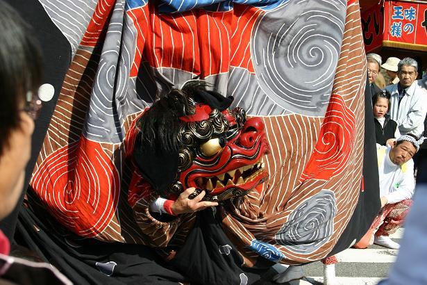 南信州の獅子舞