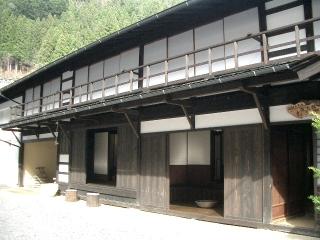 山村ふるさと保存館ねぎや(飯田市上村)