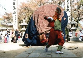 大島山獅子舞