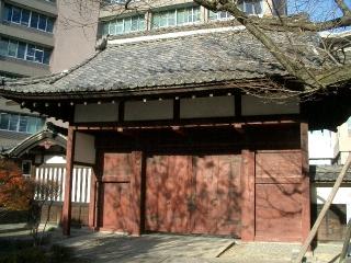 旧飯田城桜丸後門 赤門(飯田市)