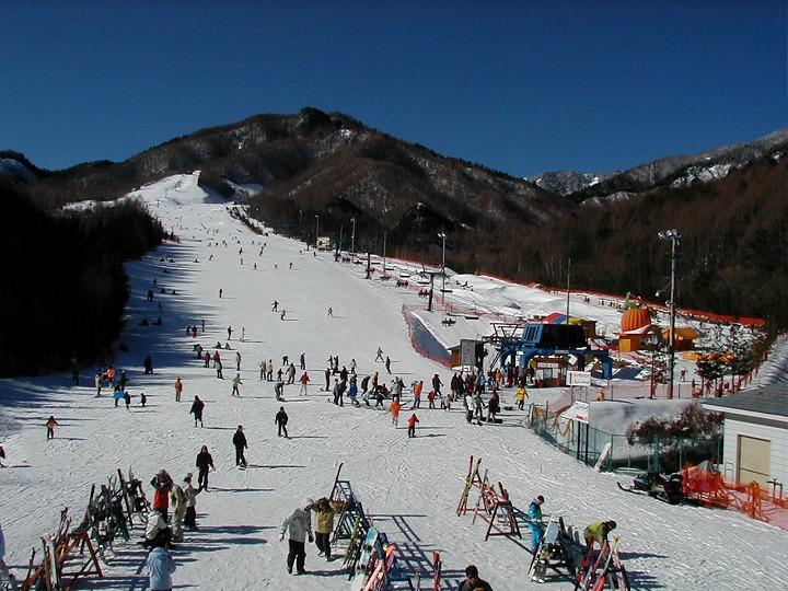 あららぎ高原スキー場(阿智村)