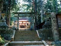 入登山神社(下條村)