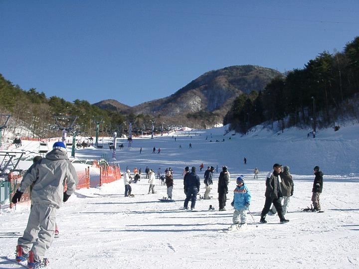 治部坂高原スキー場(阿智村)