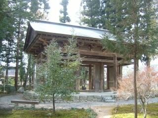 開善寺山門・鐘楼(飯田市)