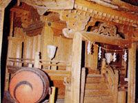 古城八幡社(阿南町)