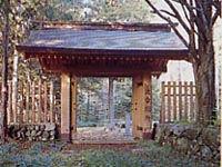 波合関所跡(阿智村)