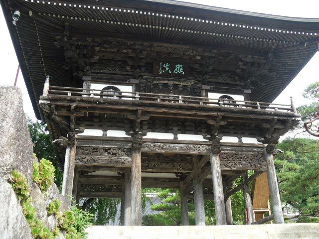 泉龍院山門(豊丘村)