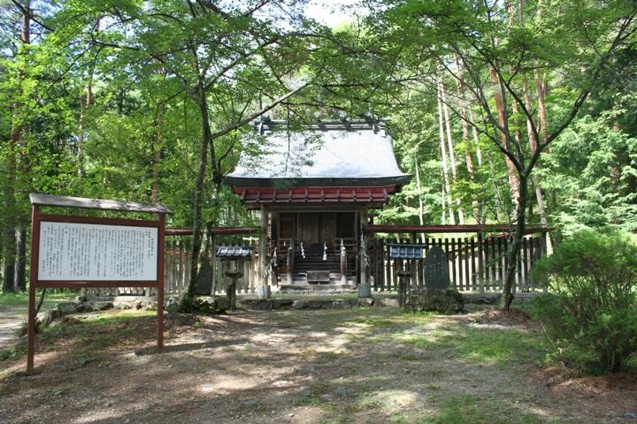 信濃宮神社(大鹿村)