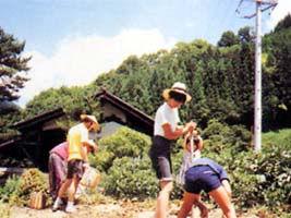 山村体験民宿たかやす(大鹿村)