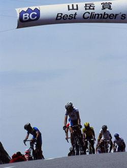 自転車ロードレースの開催地