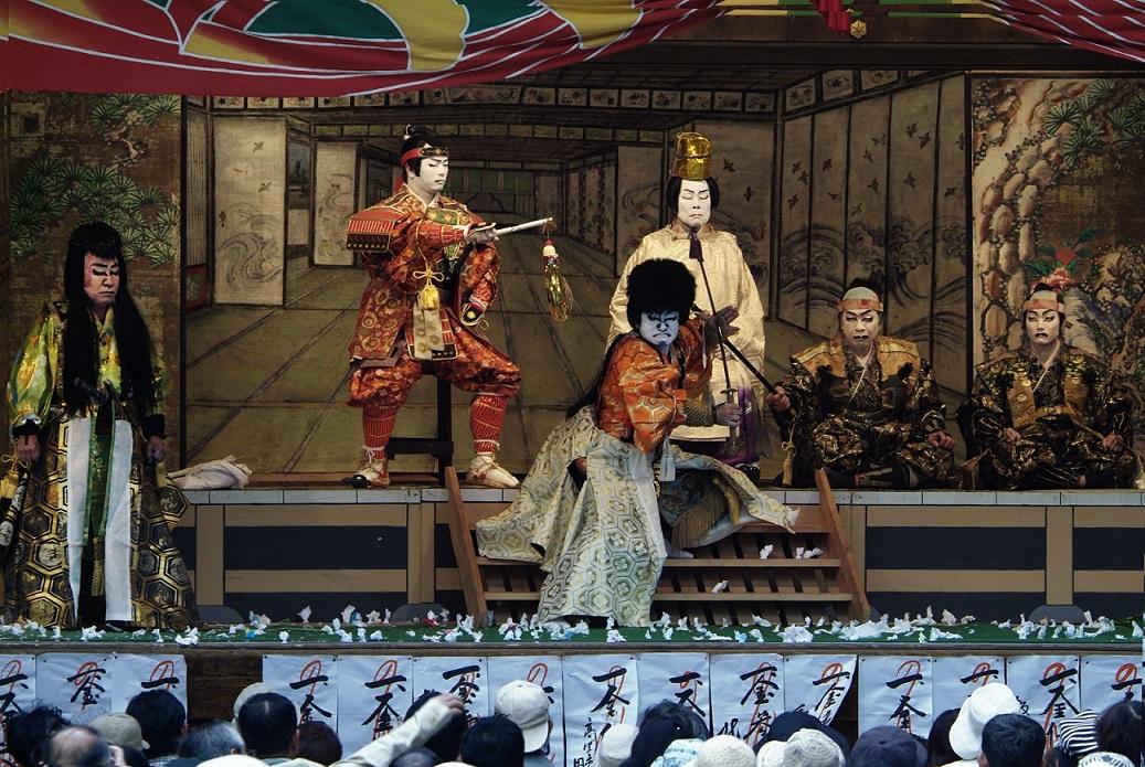 大鹿歌舞伎六千両後日文章2