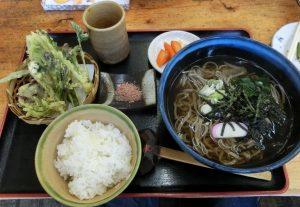 4-28 山菜そば定食 7056