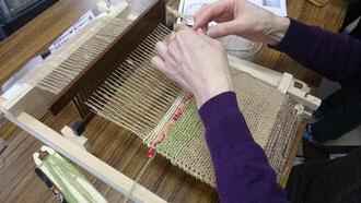 藤糸による織物体験_s