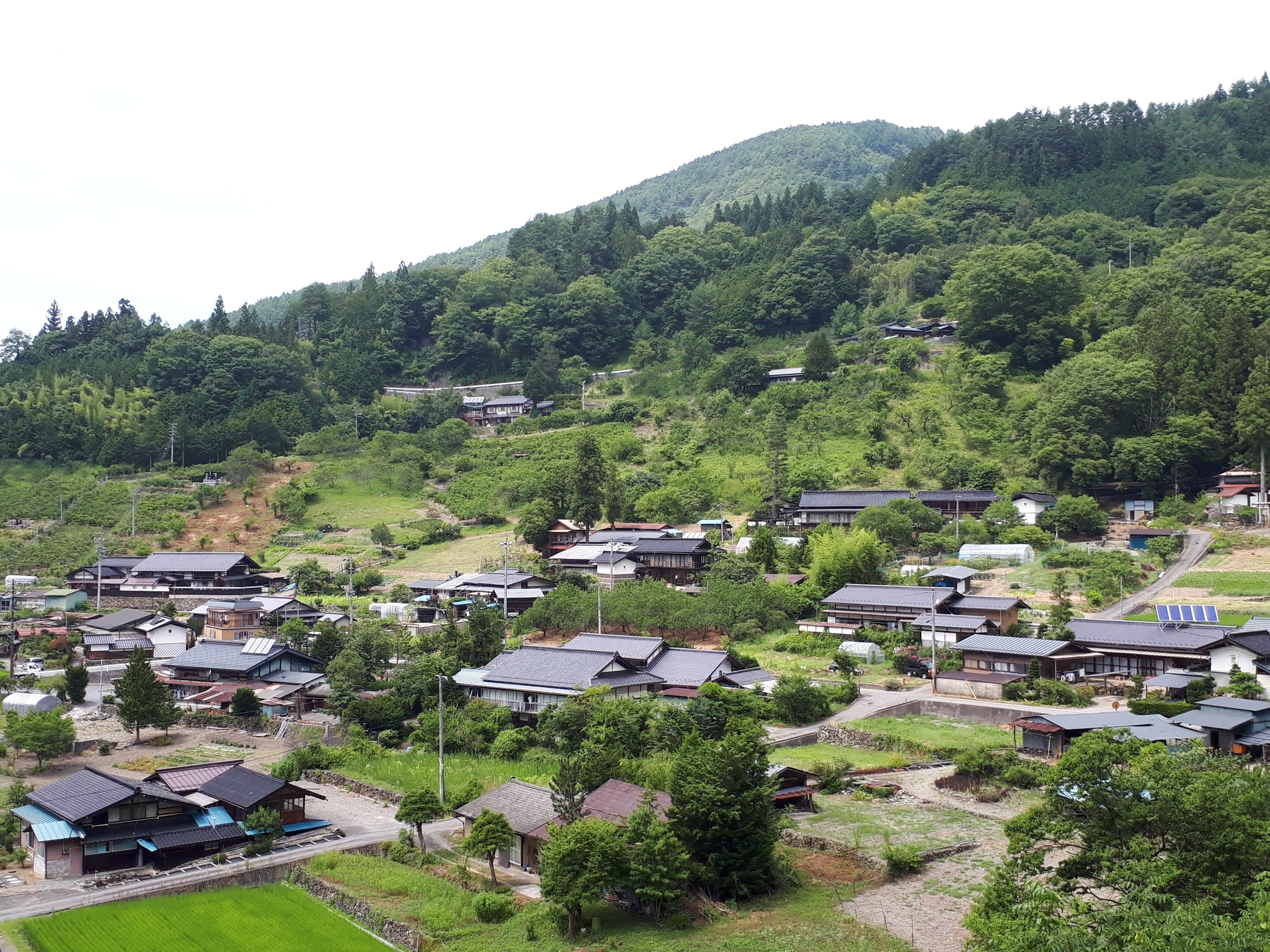 大鹿村のビューポイント