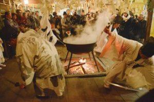霜月祭り見学①(下堂祓い)