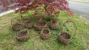 メイン写真②遠山の藤づる籠編み体験