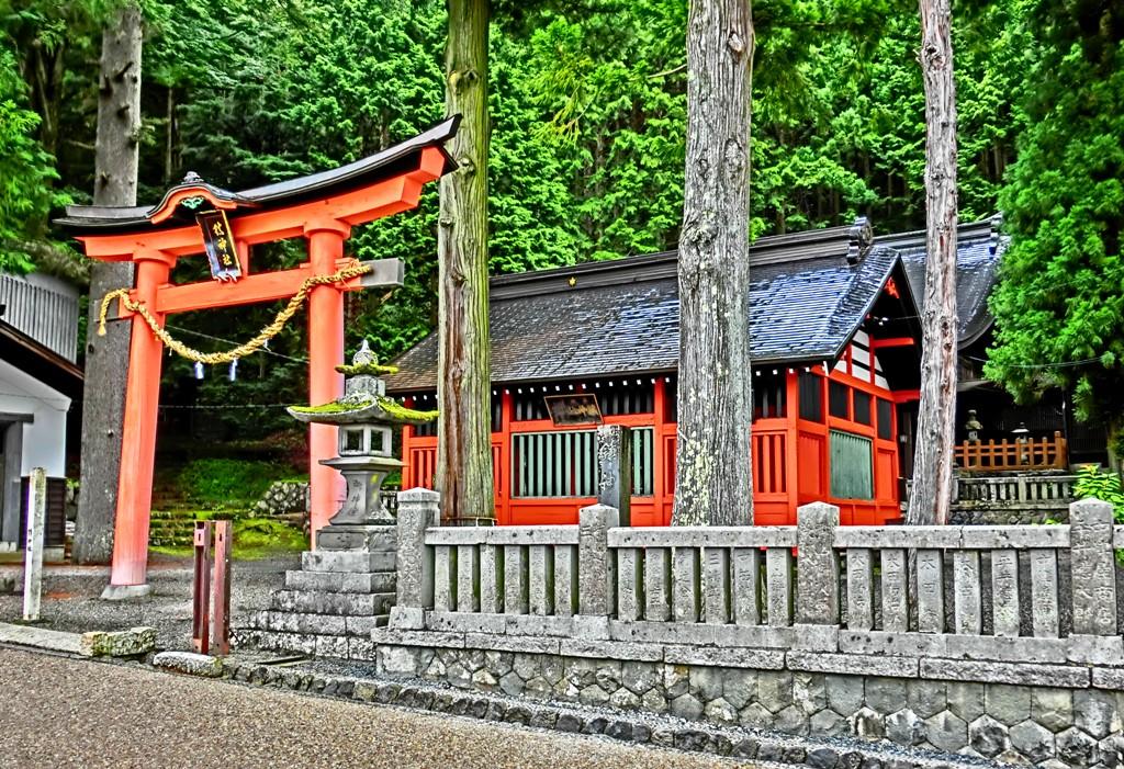 7-11 奈良井宿 611 鎮神社