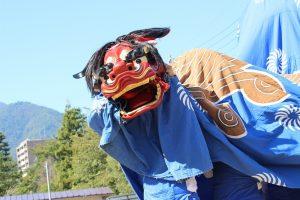 南信州獅子舞フェスティバル③ン