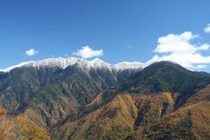 しらびそ高原から南アルプス眺望1