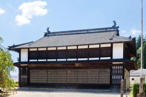 旧座光寺麻績学校校舎