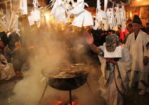 ⑧尾野島正八幡神社(霜月祭り)