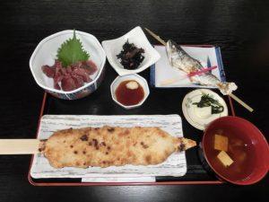 (夕食)道の駅千石平