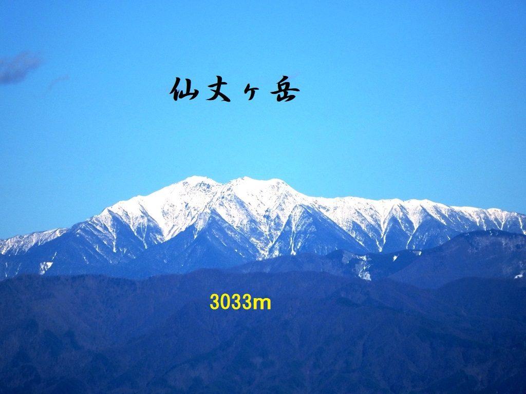 仙丈ヶ岳 252