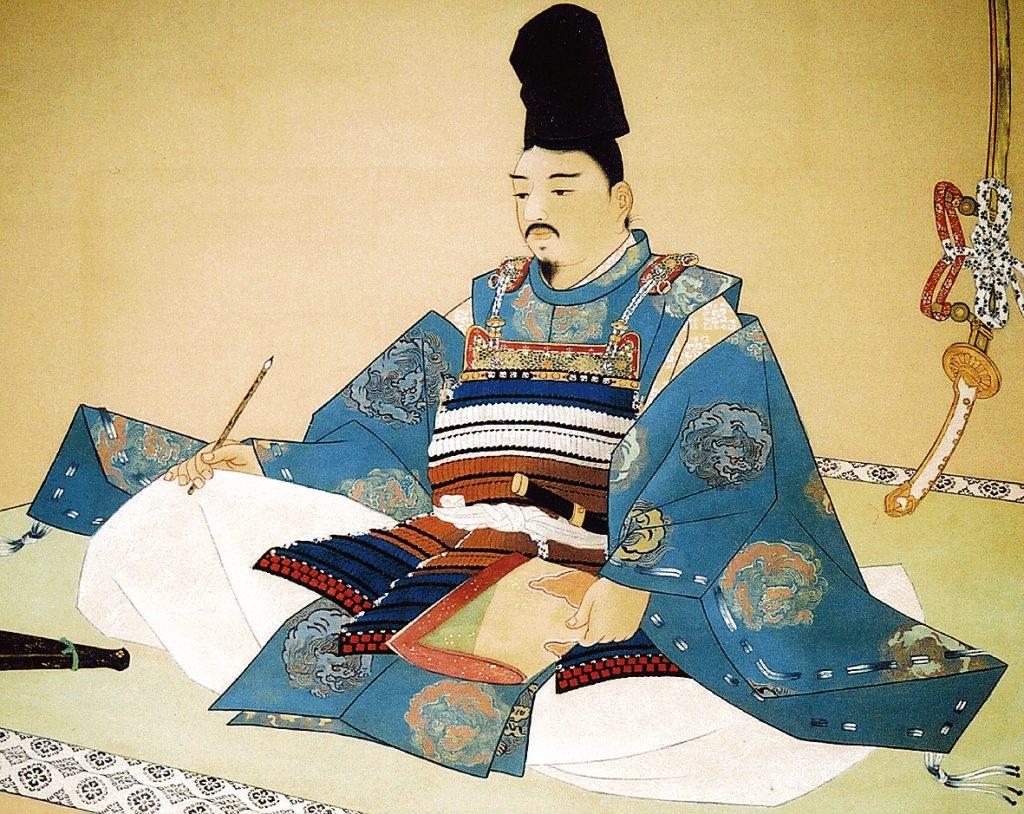 ①-1宗良親王画像(肖像画)大鹿村教育委員会提供