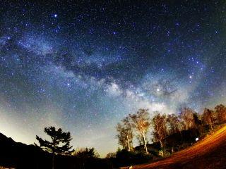 ⑤-2星空観察(天の川)