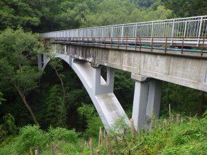 ⑩毛賀沢水道橋