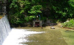 ⑥御用水取入口(松川)