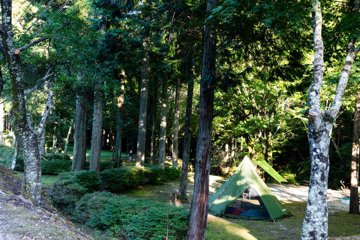 大河内森林公園キャンプ場(天龍村)